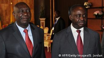 En 2013, Michel Djotodia (à gauche) avait renversé François Bozizé (à droite)