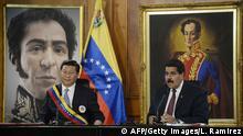 China Venezuela Xi bei Maduro
