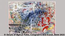 Art Cologne 2015 Sigmar Polke Ohne Titel EINSCHRÄNKUNG