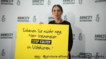 Amnesty International Bericht zu Usbekistan PK in Berlin Selmin Caliskan