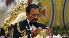 Brunei Hochzeit des Kronprinzen Abdul Malik