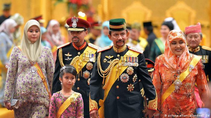 Brunei Hochzeit des Kronprinzen Abdul Malik (picture alliance/landov/Z. Jie)