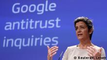 Belgien EU Kommission PK Google Wettbewerbsverstoß in Brüssel