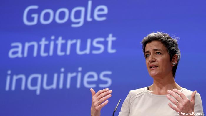 Єврокомісарка з питань конкуренції Маргрет Вестагер