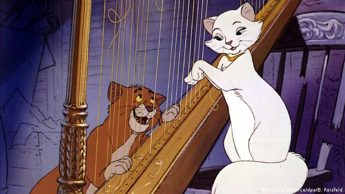 Still from film The Aristocats