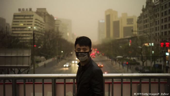 Sandsturm in Peking