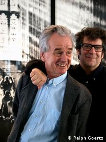 Hans Mayer and Robert Longo, Copyright: Ralph Goertz