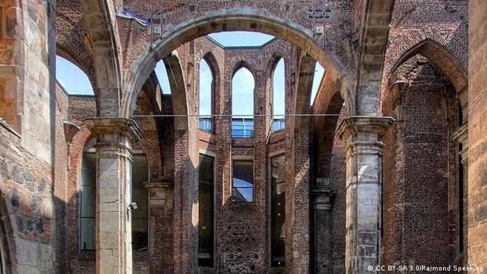 Bildergalerie Ruinen des Zweiten Weltkrieges - Alt St. Alban in Köln (CC BY-SA 3.0/Raimond Spekking)