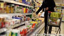 Bildergalerie Zucker Supermarktregal