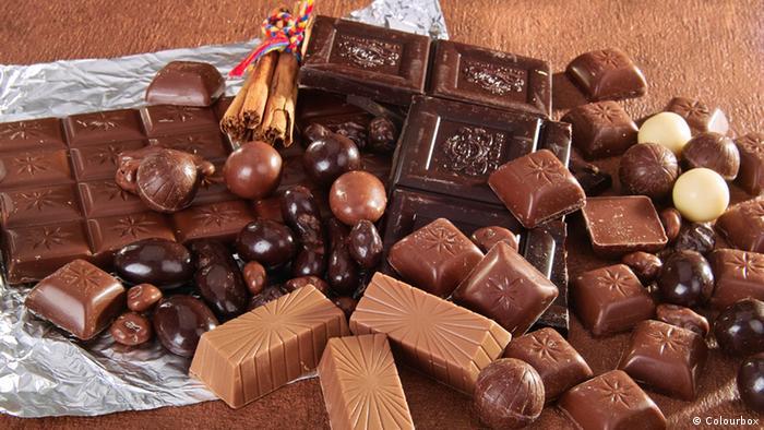 Bildergalerie Zucker Schokolade (Colourbox)