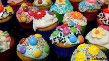 Cupcake Parade, bunte Cupcakes. #1940448 Copyright: Colourbox