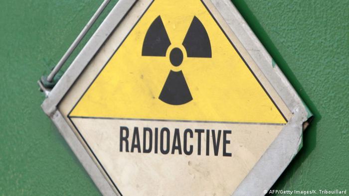 Symbolbild Strahlung Radioaktivität