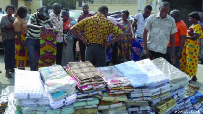 Textilien aus Ghana - Original und Fälschung