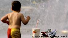 Kinder und Fast Food