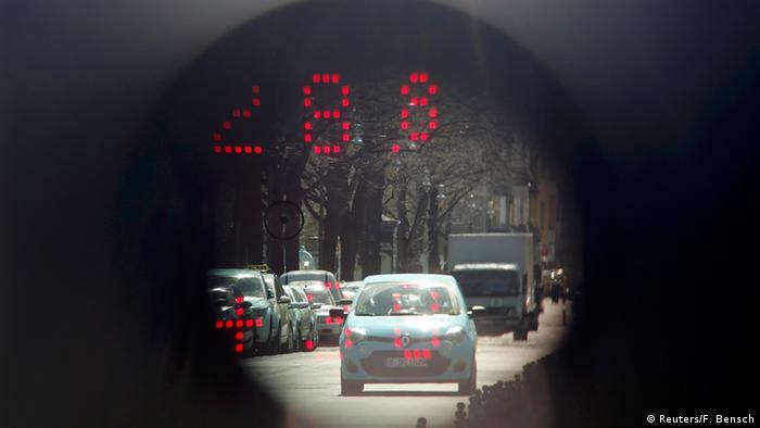Limit prędkości w Niemczech