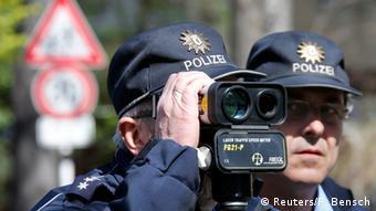 Контроль скорости на дорогах в Берлине
