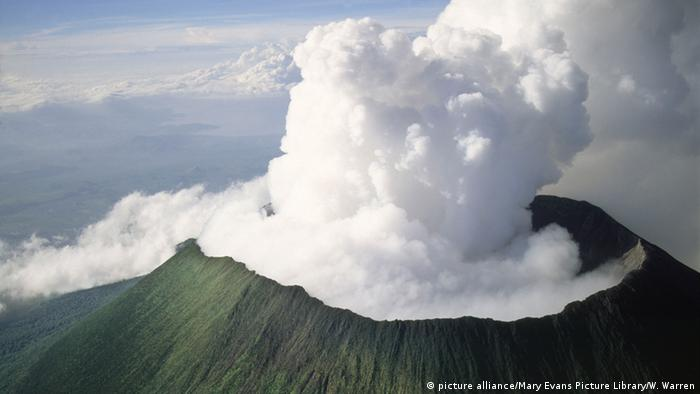 Nyiragongo volcano in Goma, DRC.
