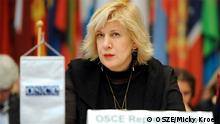 14.02.2013 in Wien * OSCE Dunja Mijatovic, Representative on Freedom of the Media, OSCE Representative on Freedom of the Media, Dunja Mijatović at the conference on shaping policies to advance media freedom on the Internet, Vienna, 14 February 2013. Copyright: OSCE ****OSCE hereby grants you permission to reproduce and/or distribute them without charge under the term and conditions of a Creative Commons Attribution - No Derivative Works license.*****