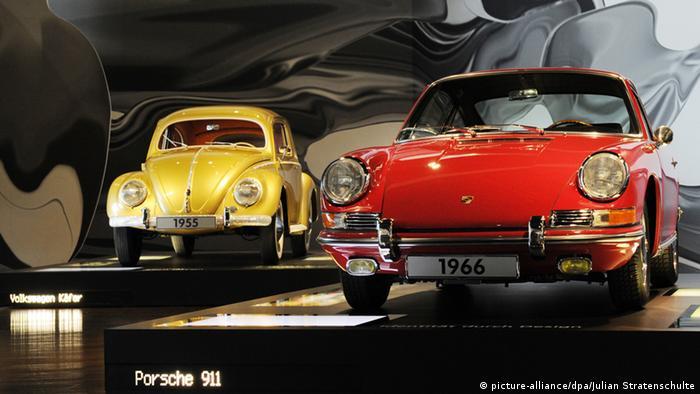 Volkswagen und Porsche