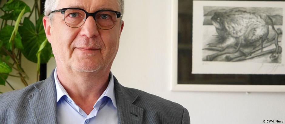 Alexander Andreev, editor-chefe da redação búlgara da DW