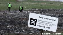 Untersuchung Flugzeugabsturz MH17 über der Ostukraine