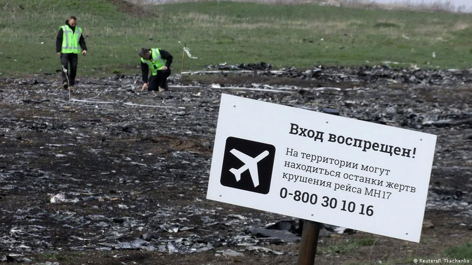 Forensic report: Russia faked MH17 satellite photos | DW | 01.06.2015