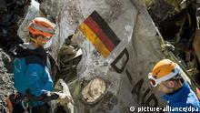Absturz Germanwings-Maschine/Trümmerteile