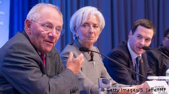 Ο Βόλφγκανγκ Σόιμπλε δεν φαίνεται να αποδέχεται τις προτάσεις του ΔΝΤ