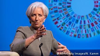 Directoarea FMI, Christine Lagarde