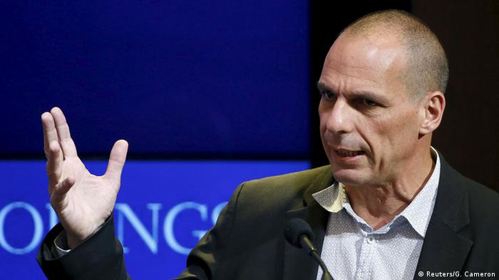 USA Yanis Varoufakis in Washington