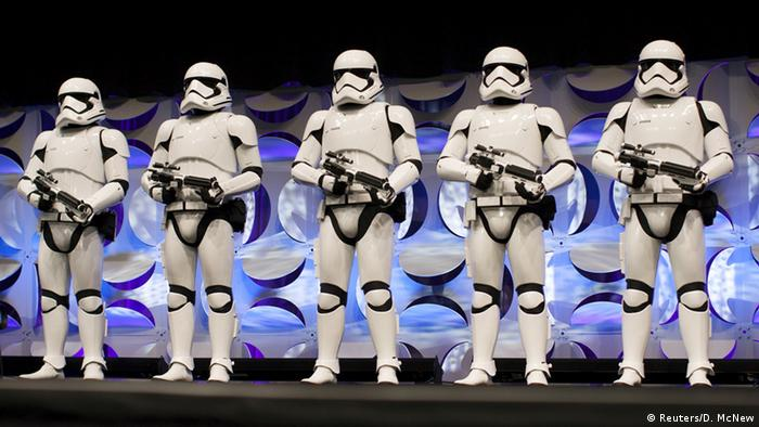 Star Wars Fans Messe in Kalifornien