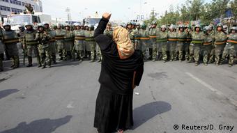2009 brach in Xinjiang blutige Unruhe aus. (Foto: Reuters/D. Gray)
