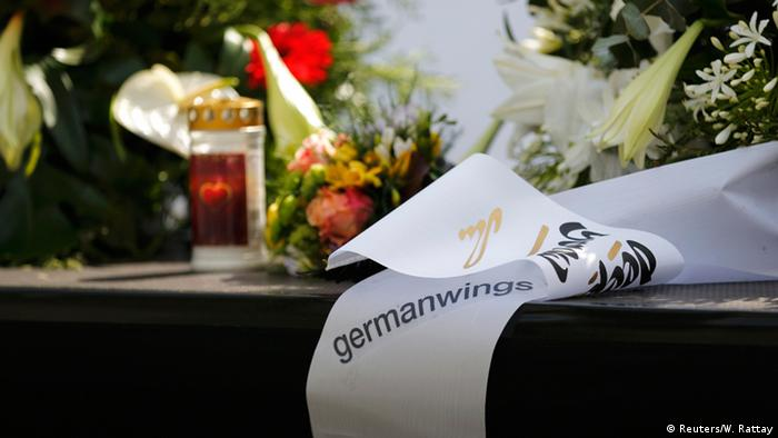 Траурная лента Germanwings