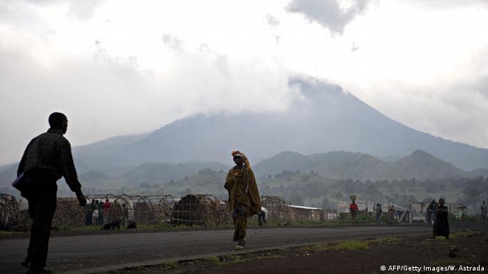 Mount Nyiragongo in the Democratic Republic of Congo