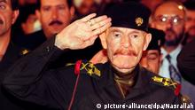 epa04708682 (FILE) A file picture from 1999 shows top Iraqi former Baath official and deputy to deposed Iraqi president Saddam Hussein, Izzat Ibrahim al-Douri, one of 55 most-wanted Iraqis. Reports on 17 April 2015 state that Izzat Ibrahim al-Douri, a close aide to former Iraqi leader Saddam Hussein, is dead after a raid on Islamic State militants in northern Iraq. The death was reported after a security raid on Islamic State militants in the northern province of Salahuddin, according to Raed al-Jabouri, the province's governor. EPA/JAMAL NASRALLAH
