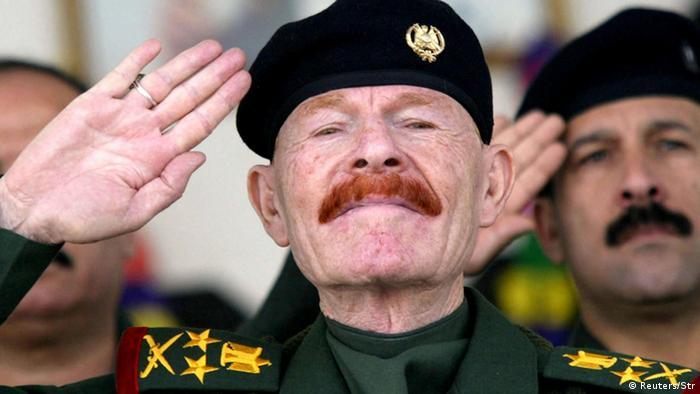 Der ehemalige irakische General Izzat Ibrahim al-Douri