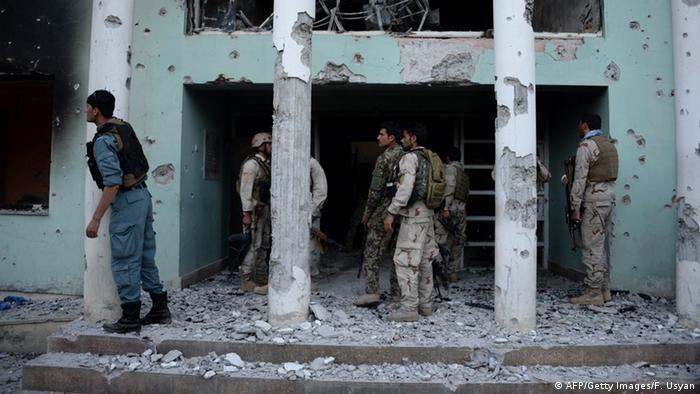 Afghanistan Symbolbild Selbstmordanschlag