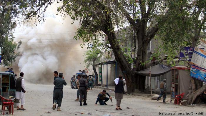 Afghanistan Selbstmordanschlag in Dschalalabad
