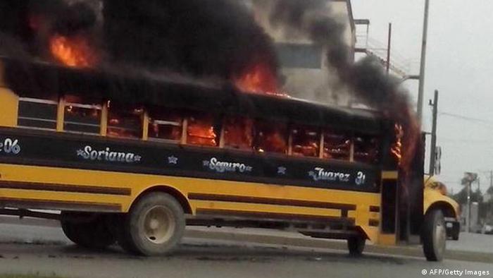 Waffengefechte zwischen den Mitgliedern des Golf-Drogenkartells und den Sicherheitskräften in Reynosa