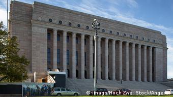 Finnland Parlamentsgebäude in Helsinki