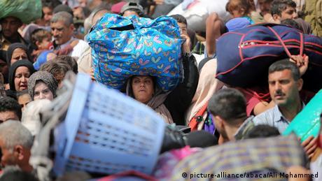 Flucht der Zivilbevölkerung in Ramadi