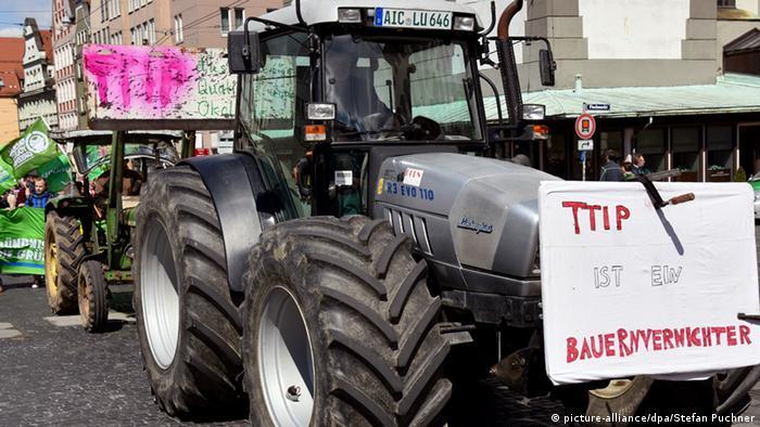 Протесты в Аугсбурге
