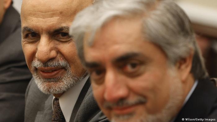 Ashraf Ghani und Abdullah Abdullah