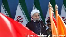 Iran Teheran Hassan Rowhani Militärparade