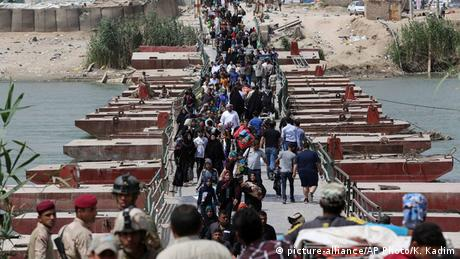 Irak Anbar Provinz Flüchtlinge IS-Opfer