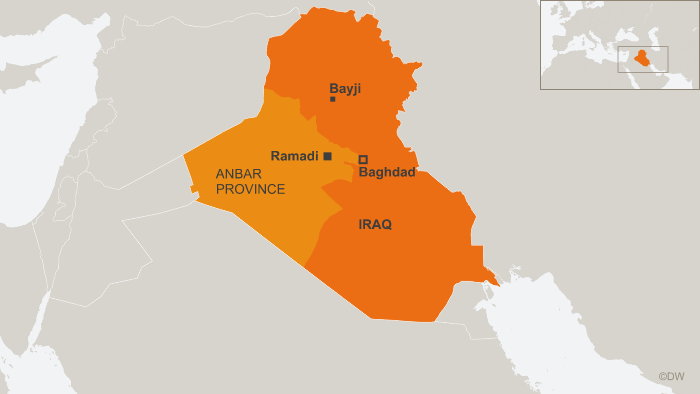 19.04.2015 DW Karte online IRAK ANBAR eng