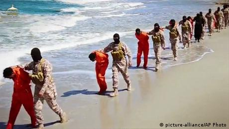 Islamischer Staat Video Christen Libyen