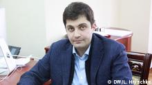 David Sakwarelidze, Stellvertreter des ukrainischen Generalanwaltes. Kiew, Ukraine, 2015 Copyright: DW/L. Hryschko via Inna Zavgorodnya, DW Ukrainisch