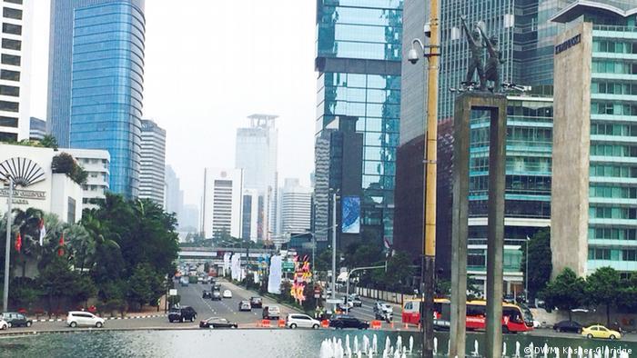 Indonesien Willkommensdenkmal in Jakarta