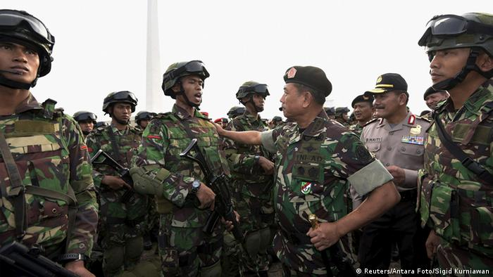 Indonesian armed forces
